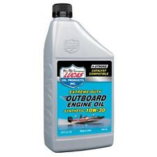 LUCAS OIL 10W30 Fully Synthetic Outboard Engine Oil - 946ml - 10661A