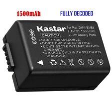 1x Kastar Battery for Panasonic Lumix DMW-BMB9 DMC-FZ60 DMC-FZ62 DMC-FZ70 FZ72