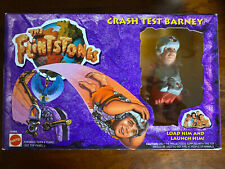THE FLINTSTONES CRASH TEST BARNEY & DYNO DRILLING BARNEY - New!