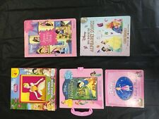 Disney Princess Jigsaw Puzzle book lot ariel cinderella snow white belle