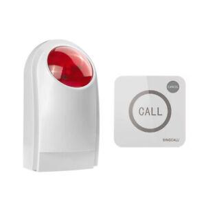 SINGCALL Wireless Outdoor Waterproof Sound Strobe Flash Siren Alarm System