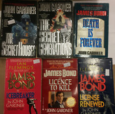 Lot Of 6 John Gardner Paperbacks