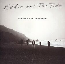 EDDIE and the TIDE Looking For Adventure (1987 U.S. Gold Foil Stamped Promo LP)