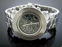 New Don & Co 5.50CT Full case Diamondd 50MM Stainless steel Watch