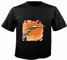 Motiv Fun T-Shirt Turmspringen Sprungbrett Mega Sport Hobby Club Motiv Nr. 6309