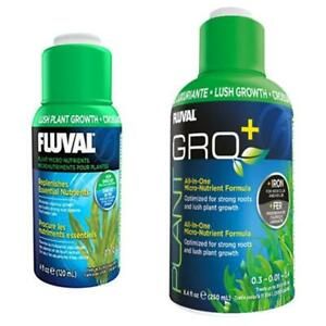 Fluval Plant Gro+ 120ml 250ml Aquarium Fish Tank Plant Food