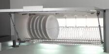 Scolapiatti a griglia unica INOX per mobile vasistas da 60-80-90-120 cm
