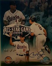 Cal Ripken jr. Signed L.E. 2001 All Star Game 8x10 photo  Ripken HOLOGRAM