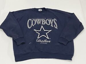 Vintage 1995 - Dallas Cowboys Lee Sport Nutmeg Pullover Sweatshirt (2XL)