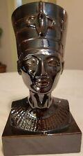 Egyptian Queen Nefertity Bust Pharaoh Figurine Statue