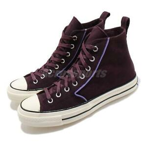 Converse Chuck Taylor All Star 70 Hi Black Currant Men Women Unisex Shoe 169371C