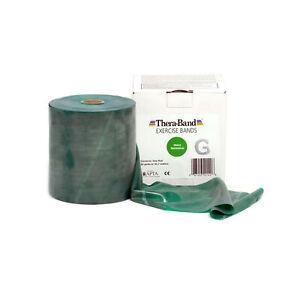 Thera-Band® Original Theraband teraband von 1,6m bis 3m stark / grün