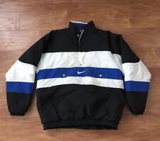 Vintage 90's Nike Parka Ski Puffer Jacket 1/2 Zip Size Men's Small/Medium RARE!