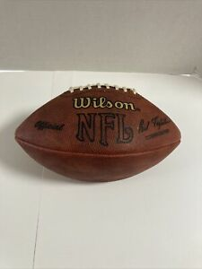 Wilson Official NFL game ball Football Paul Tagliabue Vintage throwback made USA