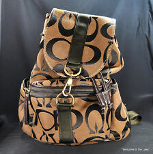 LADIES ACCESSORIES - Fashionable Woman's Backpack, many compartments!