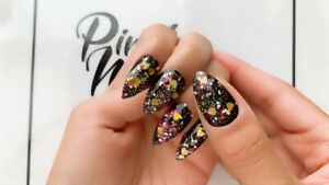 Press On Nails - Stiletto Nails - Central Park - Handmade