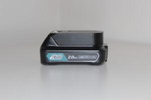 Black battery holder / cover for Makita BL1015, Bl1020B, BL1040B 10.8V