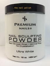 Premium Ultra White 16oz Acrylic Powder *Brand New * Salon Special