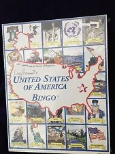 New Lucy Hammett's United States Of America Bingo Educational Family Game Age 7+