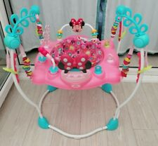 Disney minnie mouse jumperoo  bouncer baby toy activity jumping by bright starts