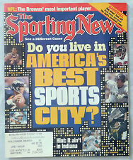 1999 SPORTING NEWS DO YOU LIVE IN AMERICA BEST SPORTS CITY JETER ELWAY MARINO