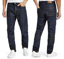 Nanny State Constructed Tapered Jeans Mens Blue Denim Midwash W34 L34