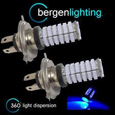 2x H4 BLU 120 LED Anteriori Abbaglianti e Anabbaglianti Kit Luci Anteriori Xeno hm501001