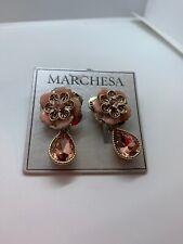 $48 Marchesa crystal drop statement earrings #500A