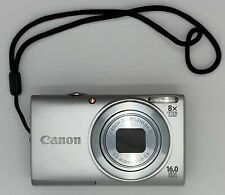 Canon PowerShot A4000 IS 16.0MP Camera - Silver - Great Condition