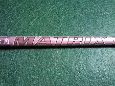 """TAYLORMADE M1/R15 MATRIX RADIX S VI A FLEX DRIVER SHAFT!!! 43 5/8"""" to TIP!!!"""