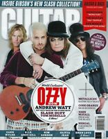 GUITAR World  May  2020  Ozzy, Andrew Watt, Slash, Duff,