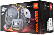 """JBL GTO609C 6.5"""" 2-Way GTO Series Component Car Speaker System New"""