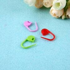 100pcs Assorted Color Knitting Clip Hooks Crochet Markers Kit Plastic Useful