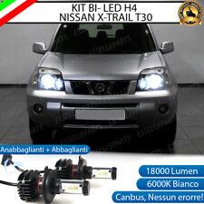 KIT LED H4 NISSAN X-TRAIL T30 6000K CANBUS 18000 LUMEN REALI LUXEON ZES BI-LED