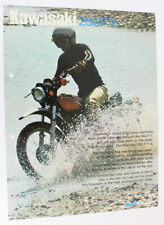 Kawasaki 250f11 Moto Oldtimer original prospectus publicité 5.1 2548 dl12