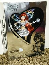 Winx Club 2012 Comic-Con BLOOM Silver BELIEVIX Doll NIB