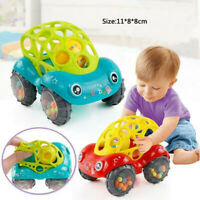 Baby Rattle Toys Cartoon Animal Running Car Musical Mobile Infant Kids Handbell