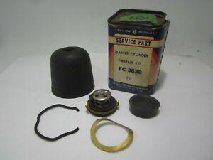 37-41 Chrysler Desoto Dodge Plymouth Master Cylinder Kit WAGNER FC3638 K27