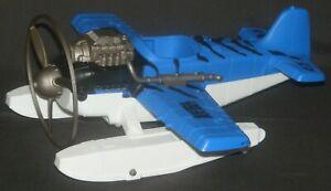 Animal Planet Extreme Adventure Airplane Sea Plane Plastic 1/18th Scale