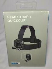 Genuine GoPro Head Strap + QuickClip for All GoPro HERO8 HERO7 HERO6 HERO5