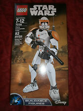 DISNEY STAR WARS CLONE COMMANDER CODY FIGURE LEGO 75108 BUILDABLE FIGURE