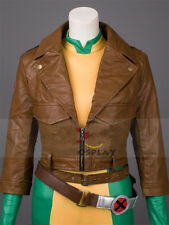 Movie X-Men Rogue Anna Marie Cosplay Costume Halloween Party Outfits Custom Made