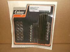 """Colony"" Chrome Engine Case Acorn Bolt Kit for 1996-99 Harley Big Twins"