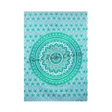 Ombre Mandala Wall Hanging Tapestry Cotton Hippie Ethnic Art For Home Decoration