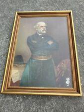 Robert E. Lee gold framed print 14 x 20