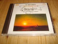 Bernd Glemser Scriabin piano sonatas piano Sonaten 2 Naxos CD signed signé