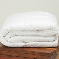Luxurious Mulberry Silk Filled Duvet Quilt Single Bed in All Togs Hotel Quality