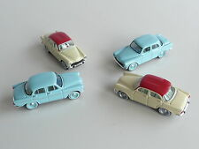 ATLAS NOREV LOT DE 4 VOITURES SIMCA ARONDE 1/87 EME