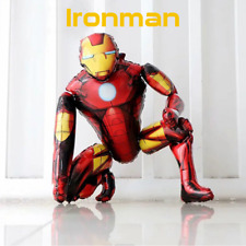 IRON MAN LARGE 3D FOIL BALLOON Marvel UK SELLER *Fast Dispatch* BIRTHDAY PARTY