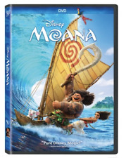 Moana (Dvd, 2017) New & Sealed w/ Slipcover Free Shipping